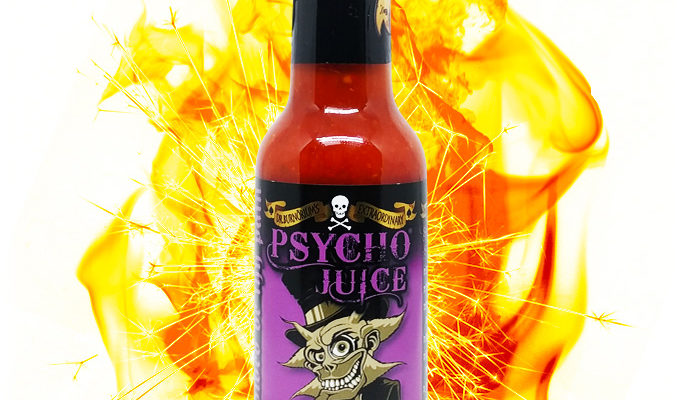 psycho juice 70 scorpion pepper - Sauce piquante